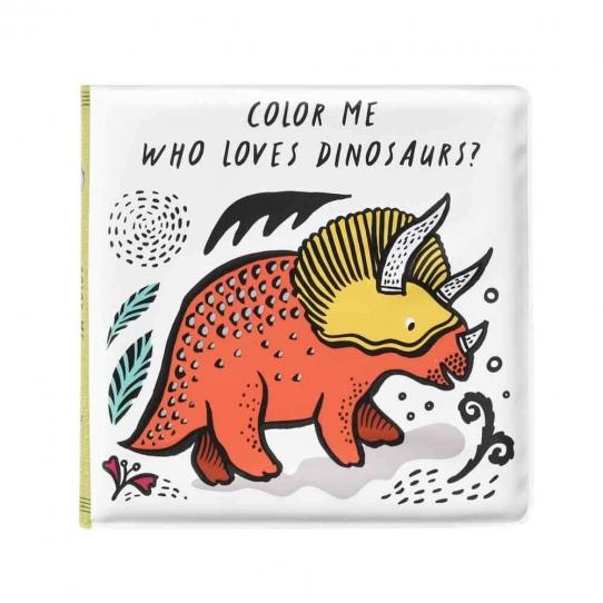 Livre pour le bain - Qui aime les dinosaures ?