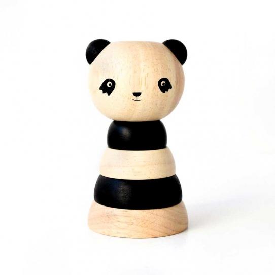 Tour à empiler Panda
