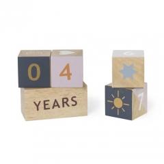 Cubes en Bois Age