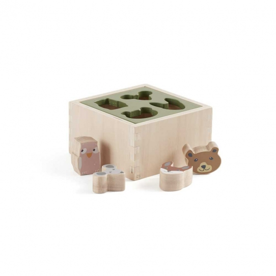 Cube avec formes à encastrer Edvin