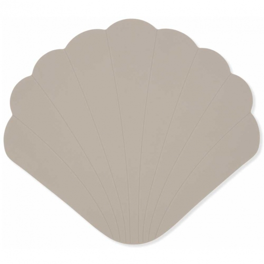Tapis de bain en silicone - Warm Grey