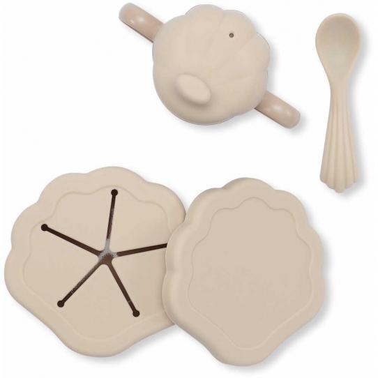 Set de vaisselle en silicone - Shell