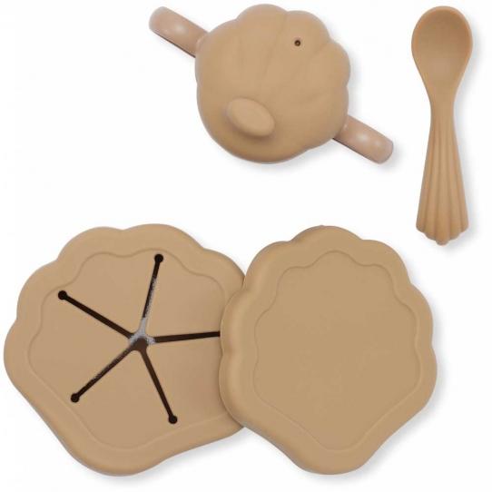 Vaisselle en silicone - Coquillage Terracotta
