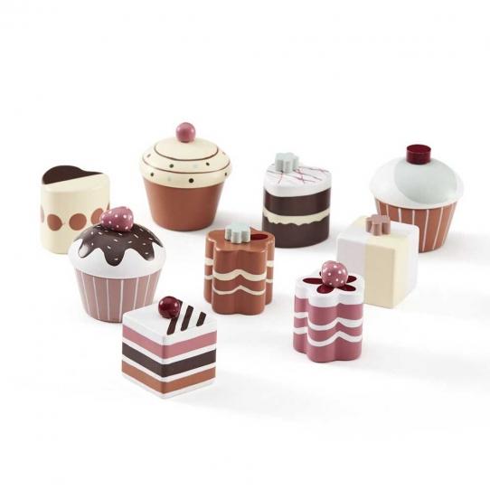 Gâteaux 9 pièces