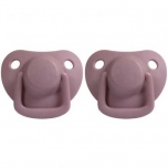2 Tétines silicone 0/6 mois - Dusty Rose
