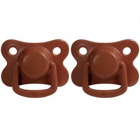 2 Tétines silicone 6M+ - Rust