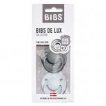 2 Tétines de Lux silicone - Gris iron et Bleu Layette