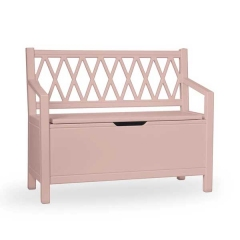 Banc coffre Harlequin - Dusty Rose
