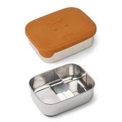 Lunch box Arthur - Cat mustard