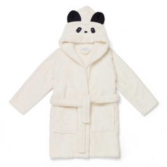 Peignoir Lily Panda creme de la creme - 1/2 ans