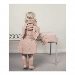 Peignoir Lily Lapin rose -1/2 ans
