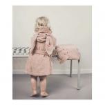 Peignoir Lily Lapin rose -3/4 ans
