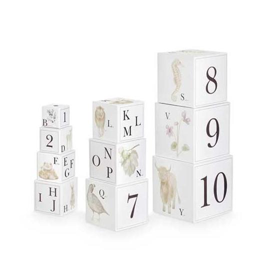 Cubes à empiler - Animaux