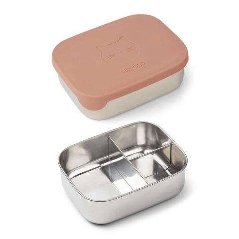 Lunch box Arthur - Chat rose