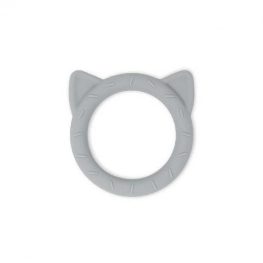 Anneau de dentition - Chat gris galet