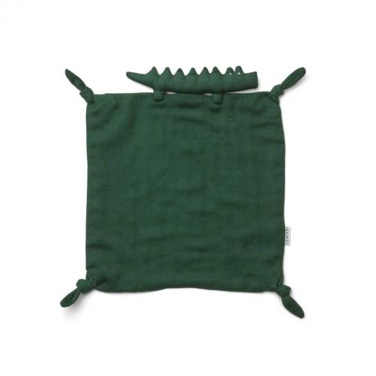 Doudou Lange - Crocodile vert