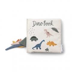 Livre en tissu - Dennis Dino beige