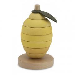Citron en bois à empiler