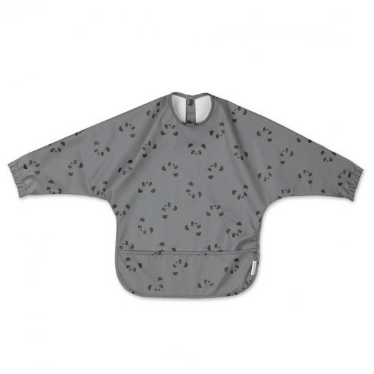 Bavoir intégral Merle - Panda stone grey