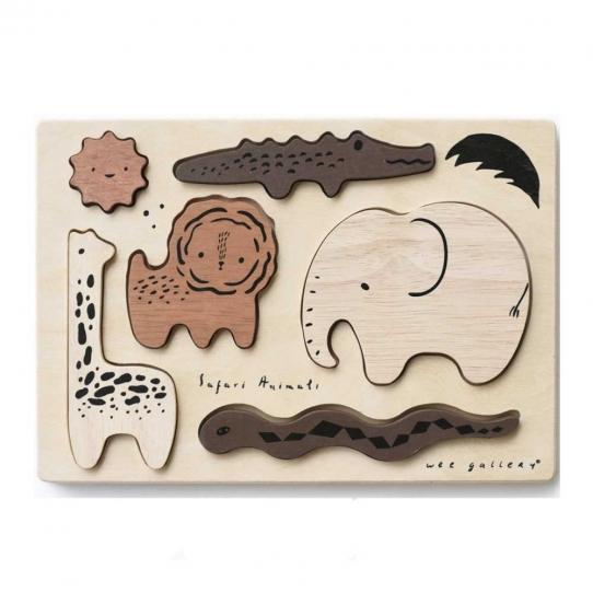 Puzzle en bois - Safari