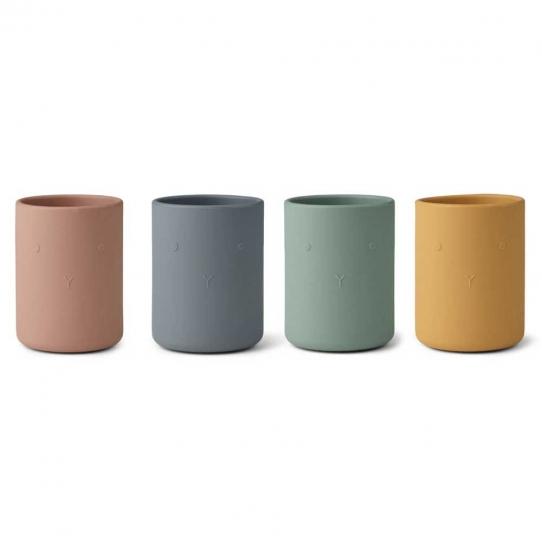 4 Tasses Ethan - Lapin Mix