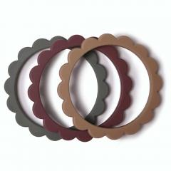 Bracelets de dentition Fleur - Berry, Dried Thyme, Natural