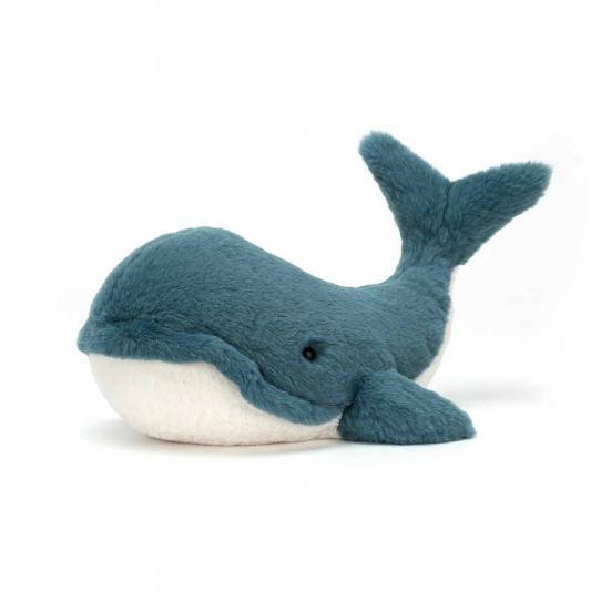 Doudou Baleine - Wally 20 cm