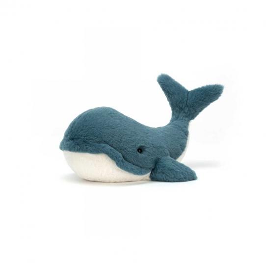 Doudou Baleine - Wally 10 cm
