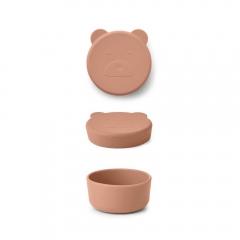 Boîte Carrie 8,3 cm - Mr Bear tuscany rose
