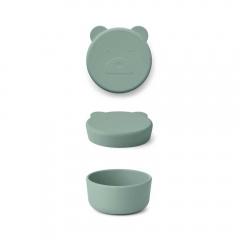 Boîte Carrie 8,3 cm - Mr Bear peppermint