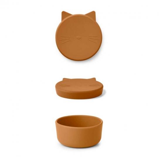Boîte Cornelius 11,5 cm - Chat moutarde