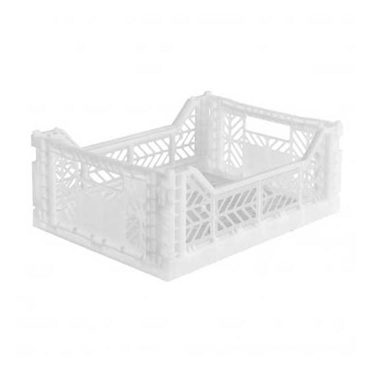 Caisse de rangement Medium - Blanc