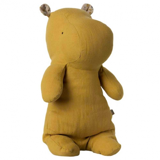 Doudou Hippopotame Dusty yellow - Médium
