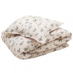 Parure de lit Bébé 70x100 Muslin - Bluebell
