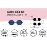Lunettes de soleil bébé Diabola 0-1 an - Rose pâle