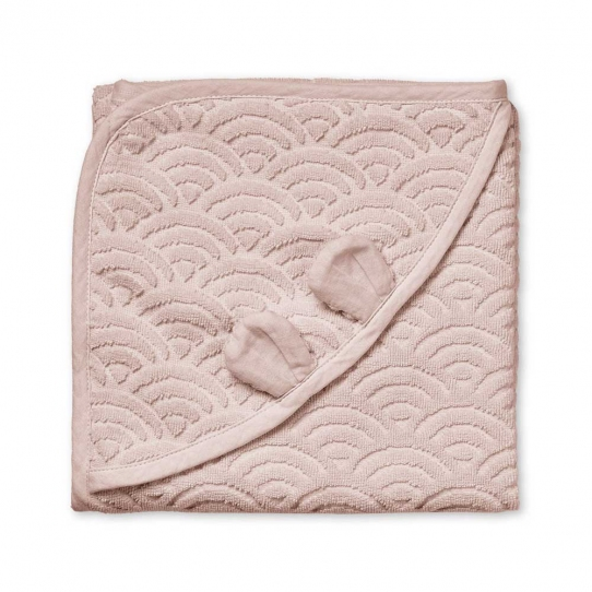 Cape de bain Vague - Blossom pink