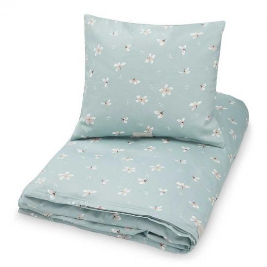 Parure de lit Bébé 70x100 - Windflower bleu