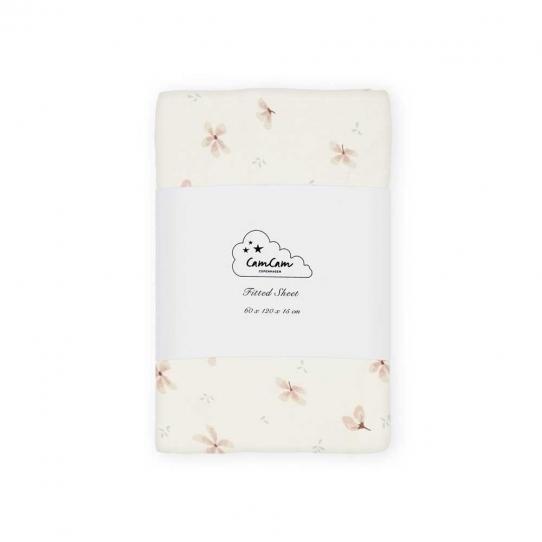 Drap housse 60x120 - Windflower crème