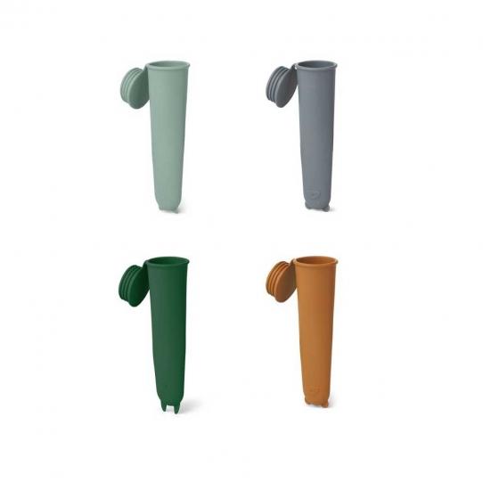 4 Moules à Glace Elisa - Green mix