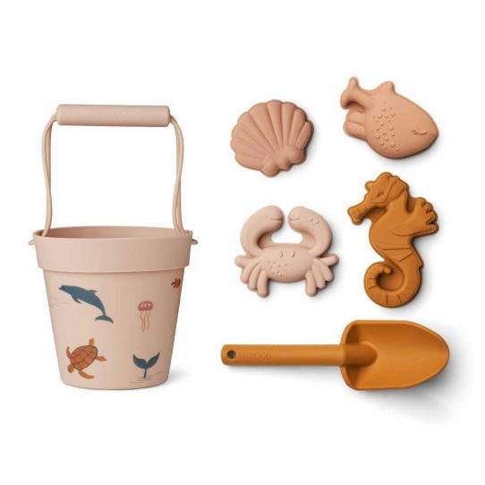 Set de plage Dante - Sea creature rose
