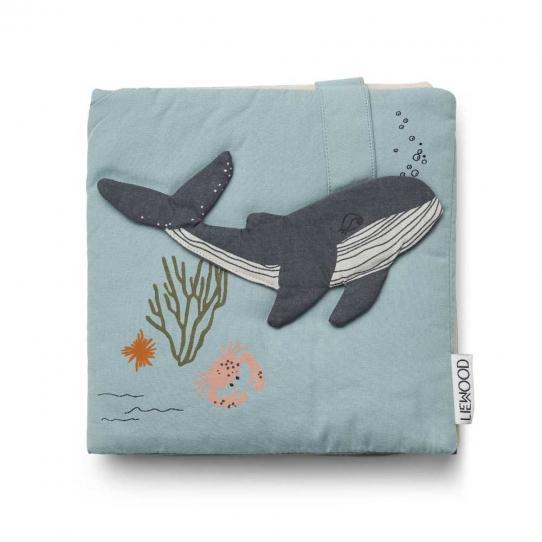 Livre en tissu - Sammy Sea creature