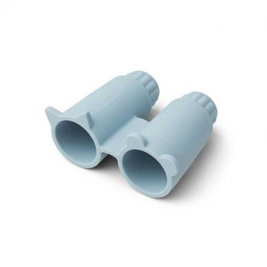 Jumelles en silicone Rikki - Sea blue