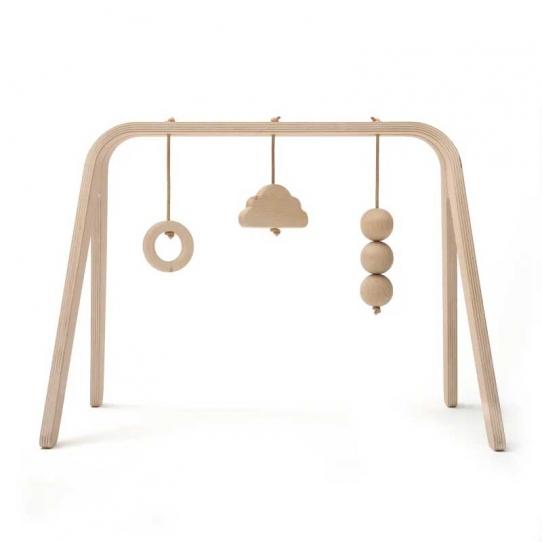 Arche d'éveil Naho avec jouets en bois