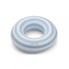 Bouée Baloo - Stripe sea bleu & creme
