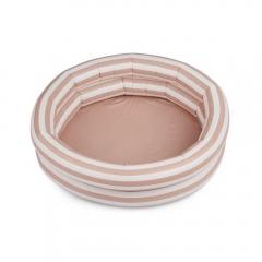Piscine Leonore - Stripe Rose & creme