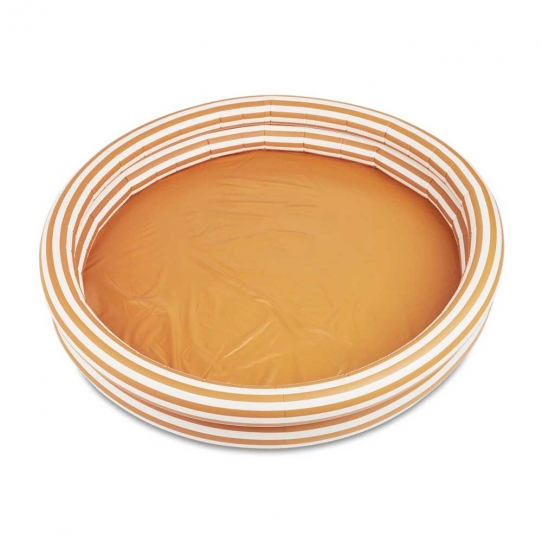 Piscine Savannah - Strip mustard & creme