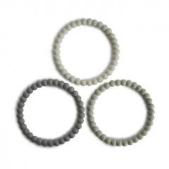 Bracelets de dentition Perle - Green tea, cool gray, sea salt