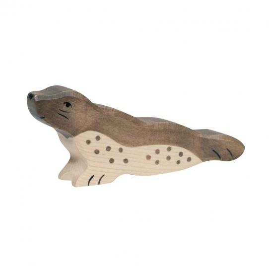 Phoque en bois