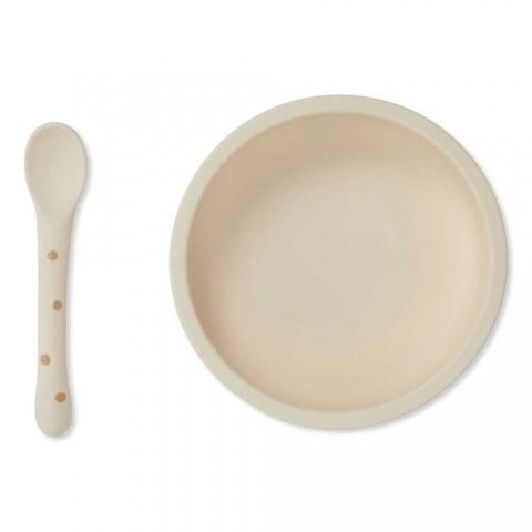 Vaisselle en silicone - Terracotta dot