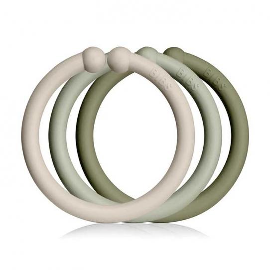 12 loops - Vanille, vert amande et olive
